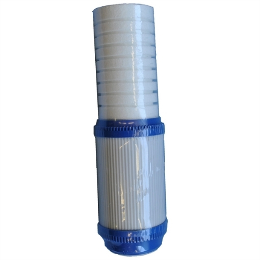 Picture of 10 Inch Combined Filter (Sediment/Carbon) -Click For More Info