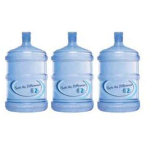 Picture of Empty 18.9 Litre Water Bottles and cap