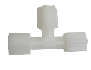 "Picture of 1/4"" T - Joint (3 pipe connector) Jaco Type"