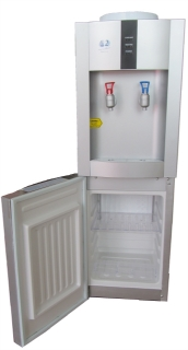 Picture of Plumbed in Hot and Cold Water Dispenser with Fridge (POU Cap)