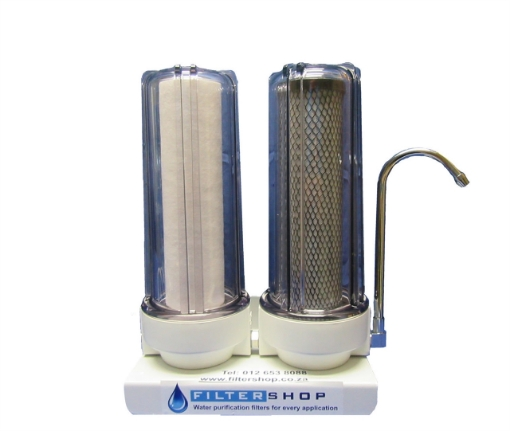 Picture of Double Counter-Top with Sediment Filter and Silver Nano Carbon
