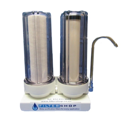 Picture of Double Counter-Top with Sediment Filter and Ceramic Cartridge