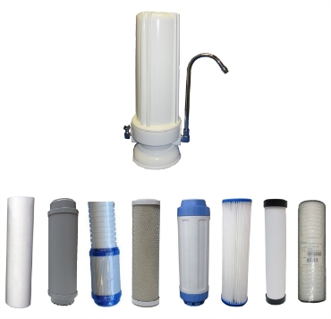 Picture for category Single Counter Top Filter Replacements