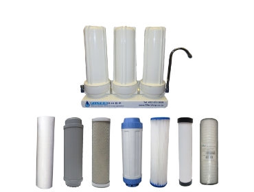 Picture for category Triple Counter Top Filter Replacements