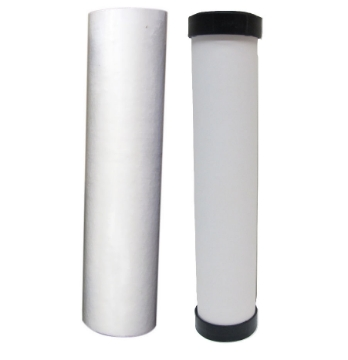 Picture of 10 Inch Sediment and Ceramic (0.5 Micron) Filters for Double Counter Top
