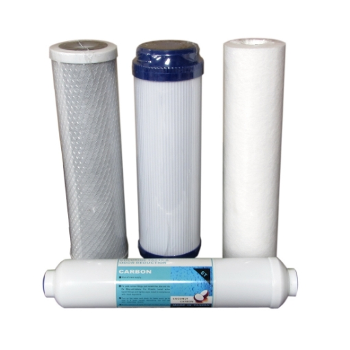 Picture of Standard 6 Month Filter Set for 300GPD RO - Click For More Info