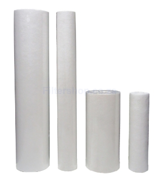 Picture of Melted Spray Sediment Filters -Click For More Info