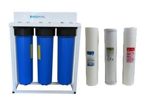 Picture of Silver Triple Stage Home Filter System