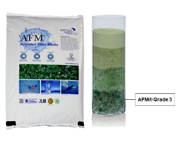 Picture of Bag of AFM® Activated (Glass) Filter Media Grade 3