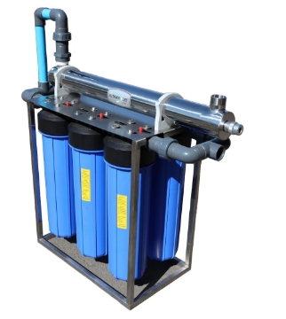 Picture of 5000LPH Ultra Violet (UV) System - Click for Info